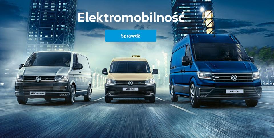 Najlepsze połączenie właściwości pojazdów użytkowych i silników elektrycznych.